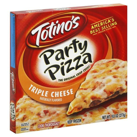 Totinos Pizza, Party, Triple Cheese