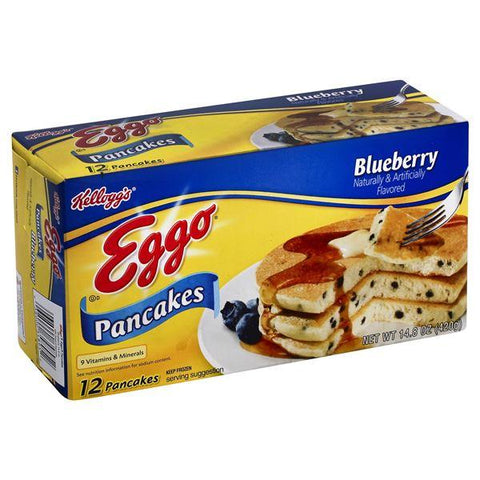 Eggo Pancakes, Blueberry