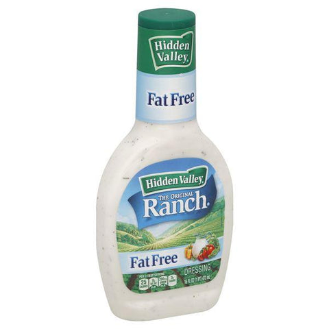 Hidden Valley Dressing, The Original Ranch, Fat Free