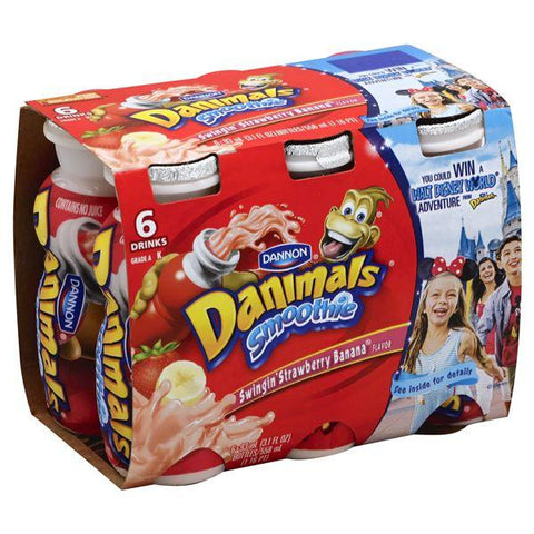 Dannon Smoothie, Swingin' Strawberry Banana Flavor
