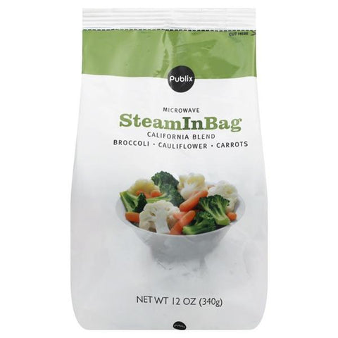 Publix California Blend, Steam In Bag