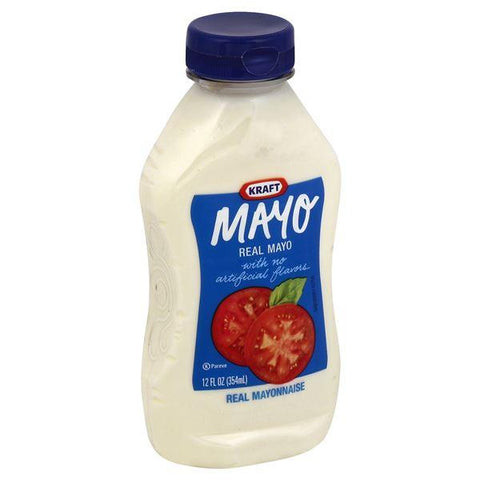 Kraft Mayo Mayonnaise, Real, Sqz Bottle