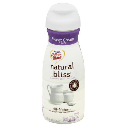 Coffee Mate Natural Bliss Coffee Creamer, Sweet Cream Flavor
