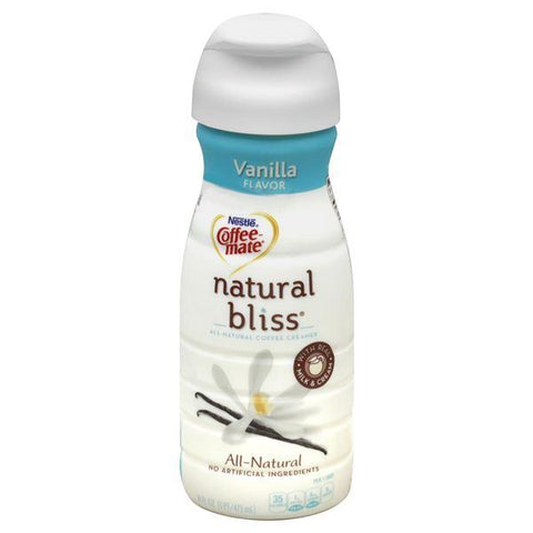 Coffee Mate Natural Bliss Coffee Creamer, Vanilla Flavor