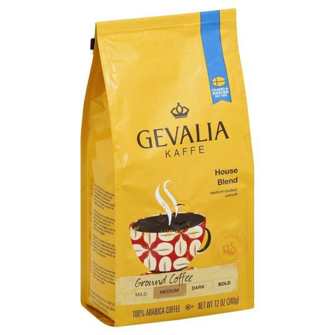 Gevalia Heritage Collection Coffee, Ground, Medium, House Blend