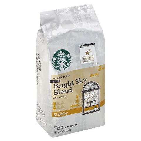 Starbucks Coffee, 100% Arabica, Ground, Blonde, Bright Sky Blend