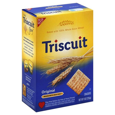 Triscuit Crackers, Original, Made with Sea Salt