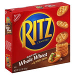 Ritz Crackers, Baked with Whole Wheat