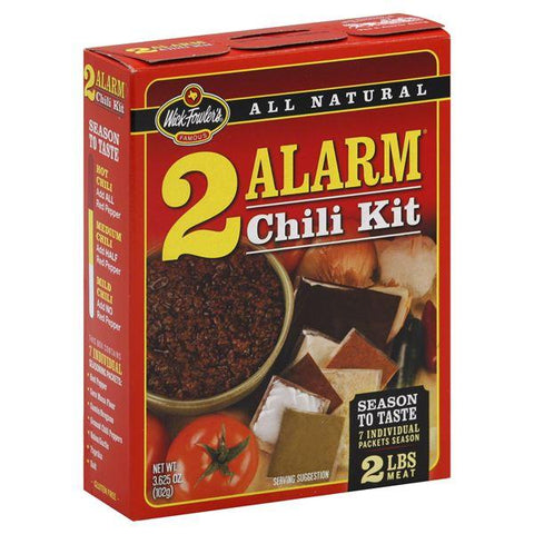 Wick Fowlers Chili Kit, 2 Alarm