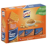 Lance Crackers, Toast Chee, Real Peanut Butter