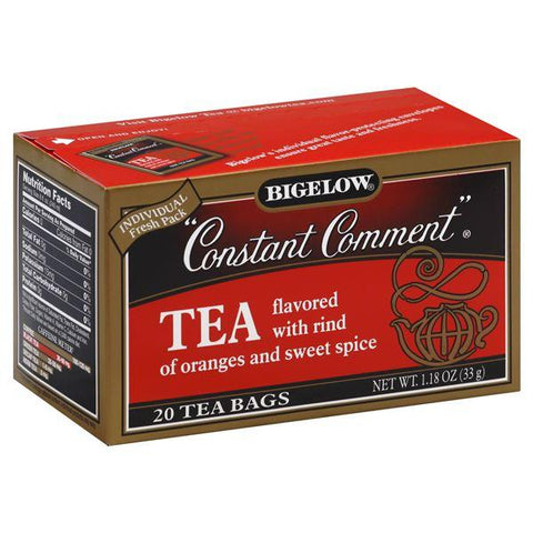 Bigelow Constant Comment Tea, Flavored with Rind of Oranges and Sweet Spice