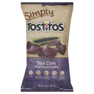 Tostitos Simply Tortilla Chips, Blue Corn