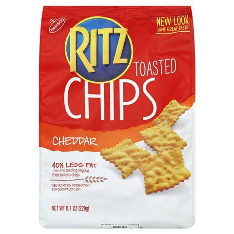 Ritz Toasted Chips, Cheddar