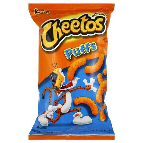 Cheetos Cheese Flavored Snacks, Puffs