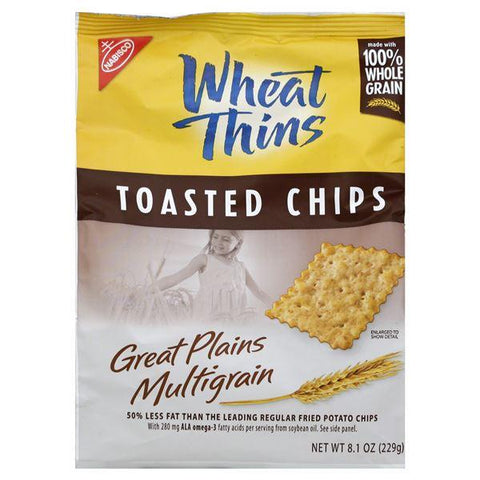 Wheat Thins Toasted Chips, Great Plains Multigrain