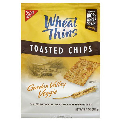 Wheat Thins Toasted Chips, Garden Valley Veggie
