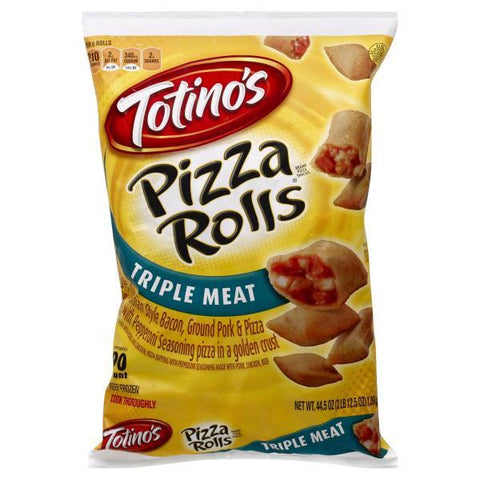 Totinos Pizza Rolls, Triple Meat, 90ct