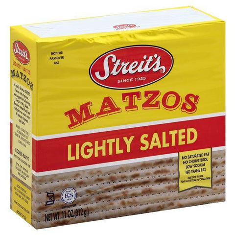 Streits Matzos, Lightly Salted