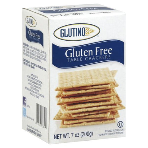 Glutino Crackers, Table, Gluten Free