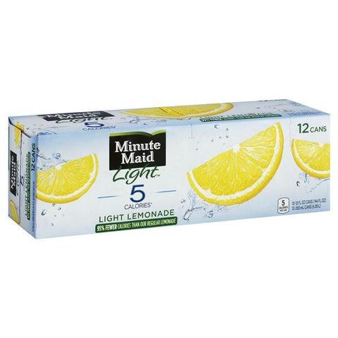 Minute Maid Light Lemonade, Fridge Pack