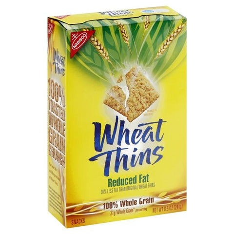 Wheat Thins Snacks, Reduced Fat