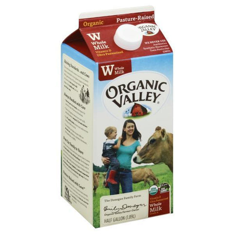 Organic Valley Milk, Whole