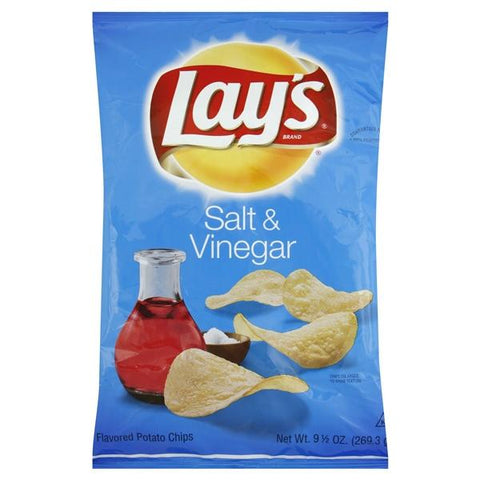 Lays Potato Chips, Salt & Vinegar