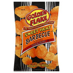 Golden Flake Potato Chips, Thin & Crispy, Sweet Heat Barbecue Flavored