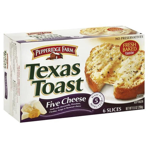 Pepperidge Farm Texas Toast, Five Cheese