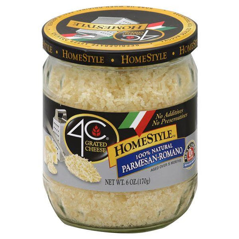 4C Grated Cheese, HomeStyle, Parmesan – Romano