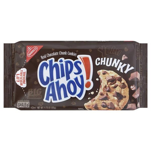 Chips Ahoy Chunky Cookies, Real Chocolate Chunk