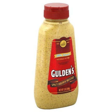 Guldens Mustard, Spicy Brown