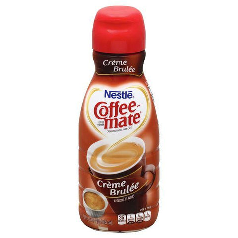 Coffee Mate Coffee Creamer, Creme Brulee