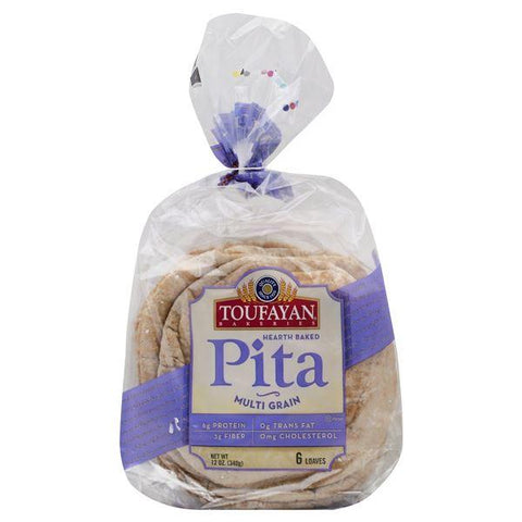 Toufayan Pita Bread, Multi Grain