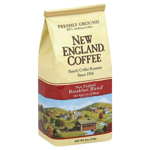 New England Coffee Coffee, Freshly Ground, New England Breakfast Blend