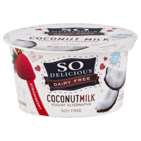 So Delicious Yogurt Alternative, Coconutmilk, Strawberry