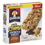 Quaker Big Chewy Granola Bars, Sweet & Salty, Chocolate & Salted Caramel