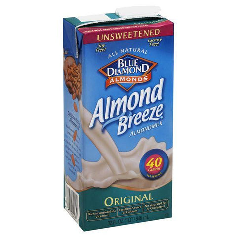 Blue Diamond Almond Milk, Original, Unsweetened