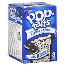 Pop Tarts Toaster Pastries, Frosted Cookies & Creme