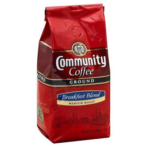 Community Coffee, Ground, Medium Roast, Breakfast Blend