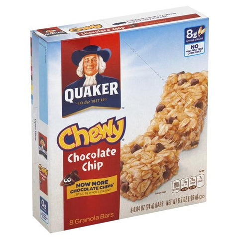Quaker Chewy Granola Bars, Chocolate Chip