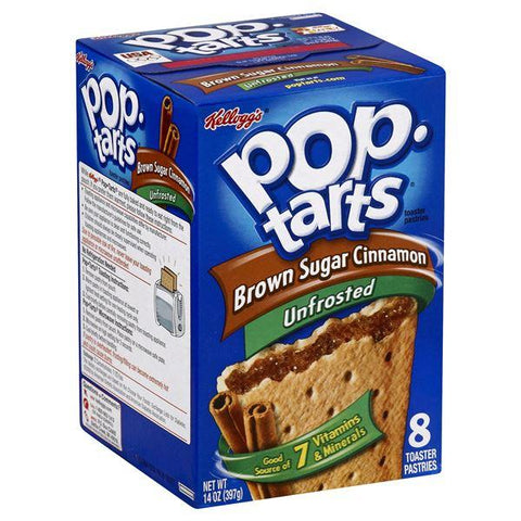 Pop Tarts Toaster Pastries, Unfrosted, Brown Sugar Cinnamon