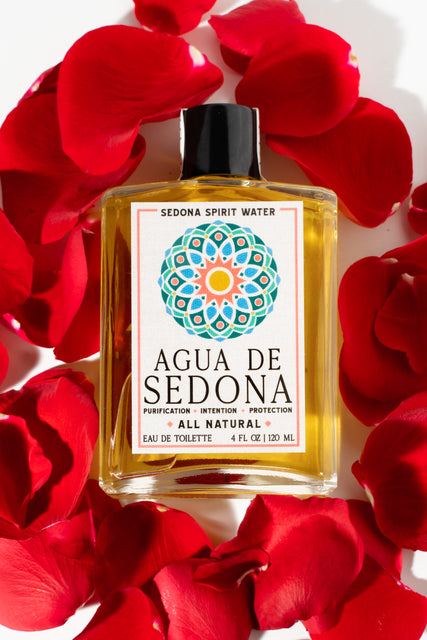 Sedona Spirit Water | Home of Agua de Sedona - All natural, boutique, handcrafted eau de toilettes, perfumes and colognes. Made in Sedona, AZ. The Spirit of Sedona in a Bottle.