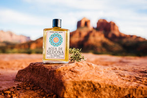 Sedona Spirit Water | Home of Agua de Sedona - All natural, boutique, handcrafted eau de toilettes, perfumes and colognes. Made in Sedona, AZ