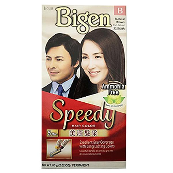 Bigen Speedy Hair Color-Natural Brown 80g