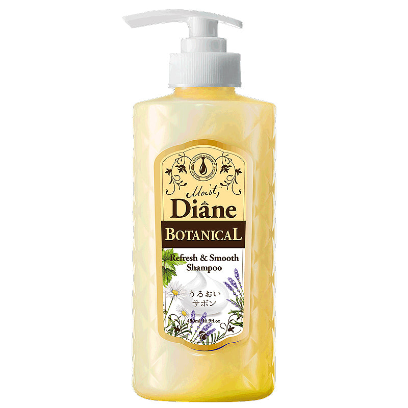 Moist Diane Botanical Refresh and Smooth Shampoo 480ml