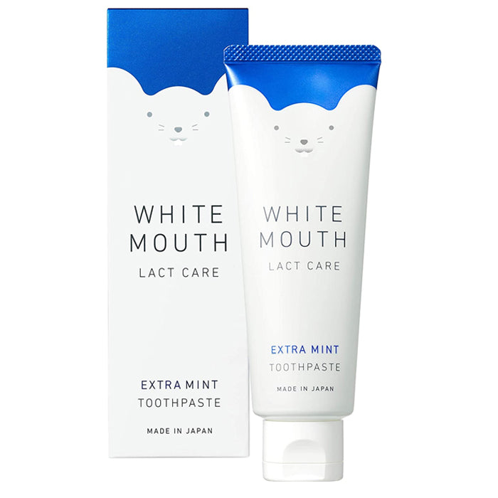 WHITE MOUTH Lact Care Toothpaste-Extra Mint 100g