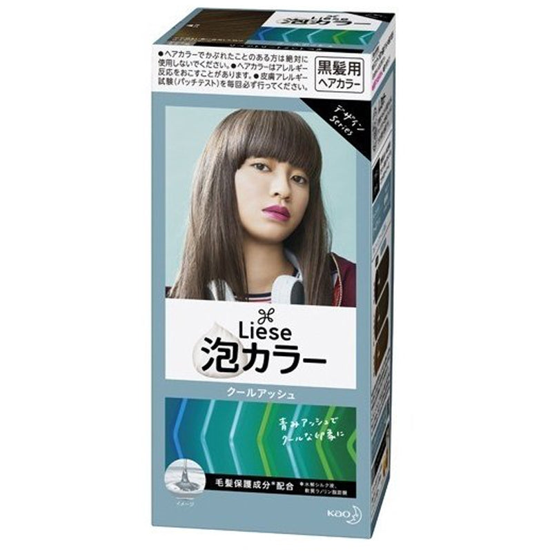 Kao Liese Prettia Bubble Hair Color-Cool Ash