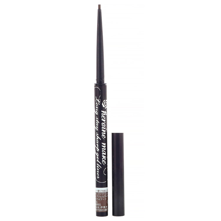 KISS Me Heroine Make Long Stay Sharp Gel Liner 03 Natural Brown 1.5mm