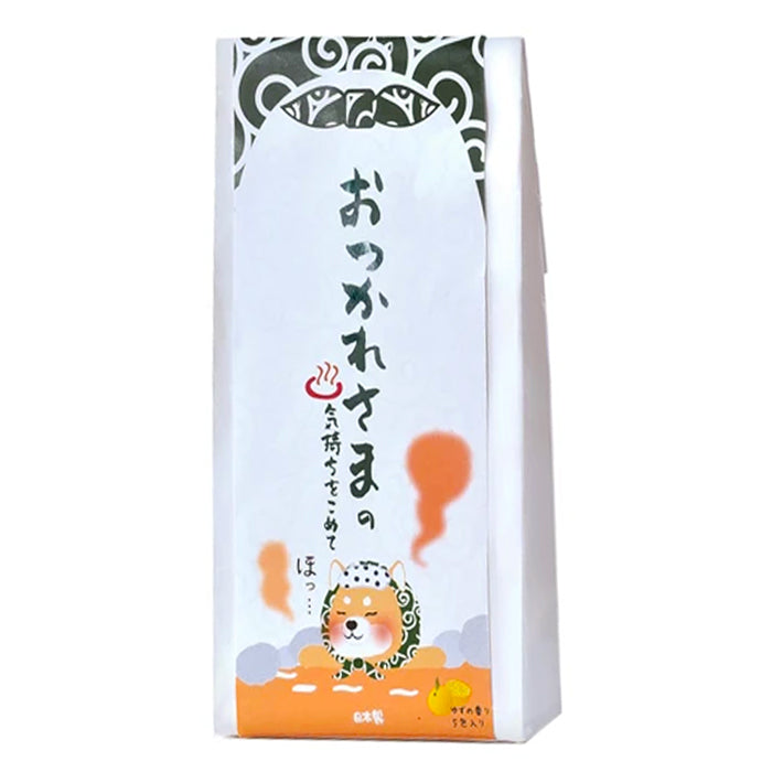 HONYARADOH Winter Bath Powder Shibazukin & Yuzu 20g*5